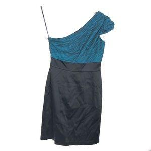 Maggy London Women's one Shoulder Dress CPK